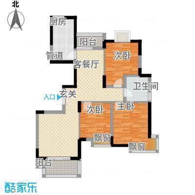 上秦家园12.00㎡户型3室