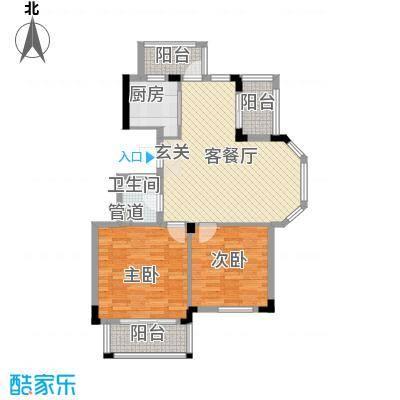 雍景苑户型3室2厅1卫1厨