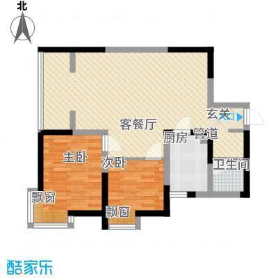 渭水茗居15号楼J户型