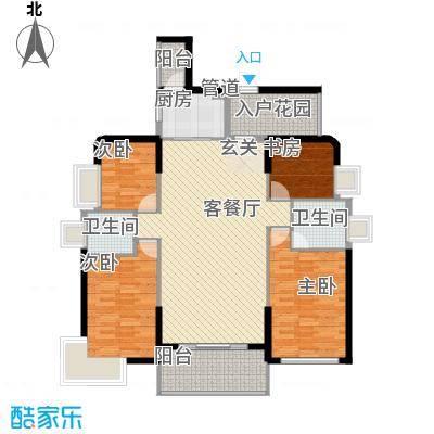 日升昌阳光御园143.00㎡户型3室