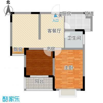 华夏世纪锦园116.00㎡C7-8#户型2室2厅1卫1厨
