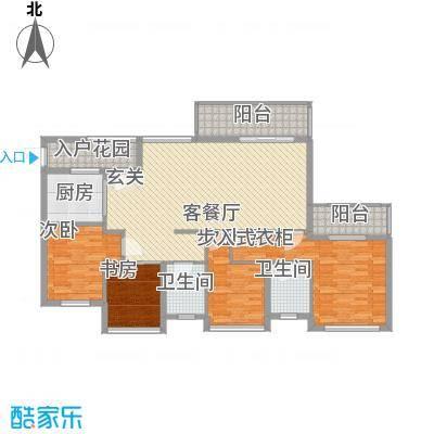 马山寨海景豪庭165.00㎡L户型4室2厅2卫1厨