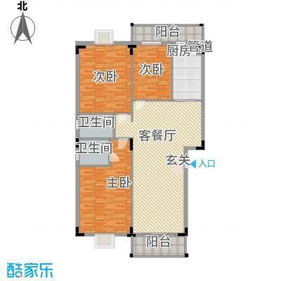 佳怡花园14.24㎡A1、A5栋01、02户型3室2厅2卫