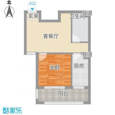 金鼎国际公寓600x600户型