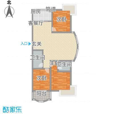 朝阳苑201005141959596139户型