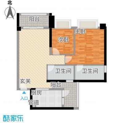 万马滨河城20112611344926户型