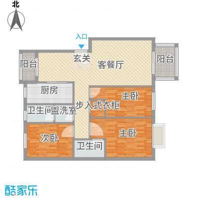 江南春晓户型3室2厅2卫