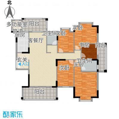 东江学府二期137.00㎡户型3室