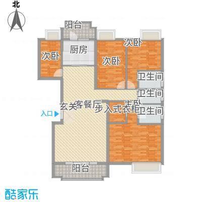 柳湖南苑三居户型3室