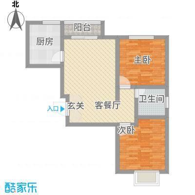柳湖南苑6.00㎡户型2室