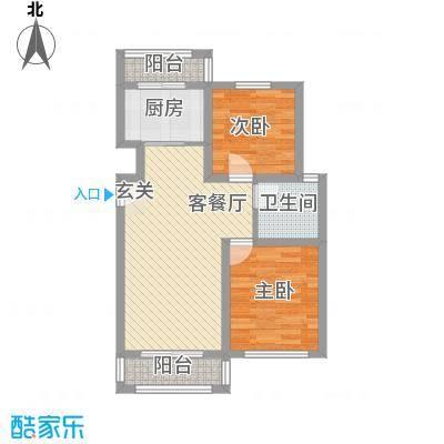 试采宿舍76.00㎡户型2室