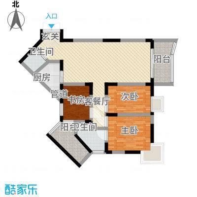 丽园新村115.10㎡户型3室
