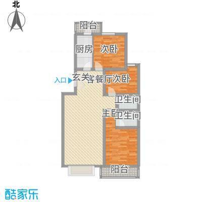 昊业・紫御府1.10㎡二期2#楼户型