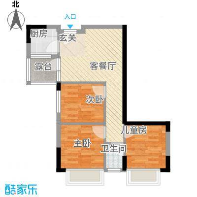 TCL雅园户型3室
