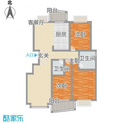 永大清华园177.30㎡济南户型