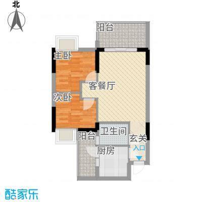 金旺新苑7.00㎡户型2室