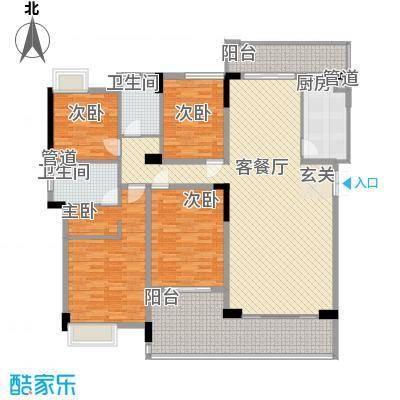 金旺新苑户型4室