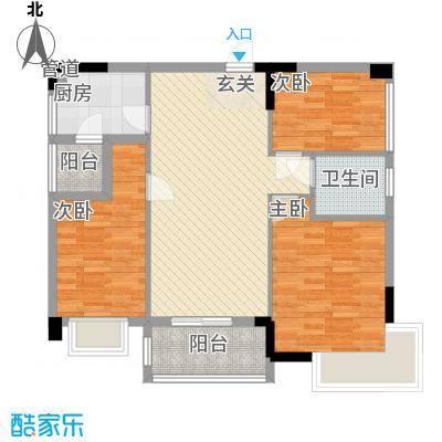天明豪庭2.74㎡2/3栋0户型3室2厅2卫1厨