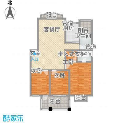 东湖花园户型3室
