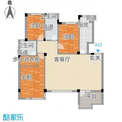 嘉亨湾户型2室
