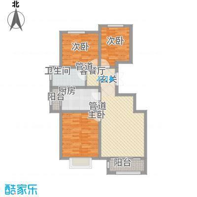 中浩智城一期高层标准层C户型