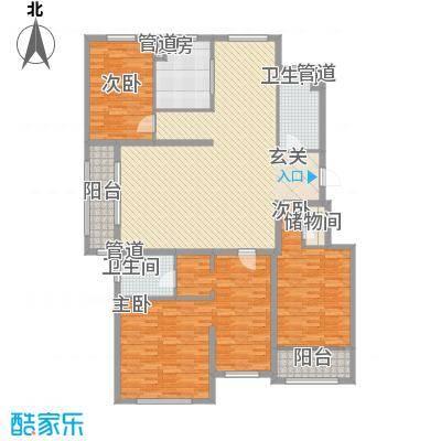 阳光花园户型5室2厅2卫1厨