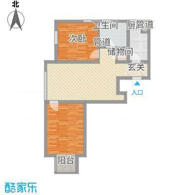 金源南里户型2室