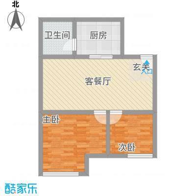 银座中心・领寓75.00㎡随性户型2室1厅1卫