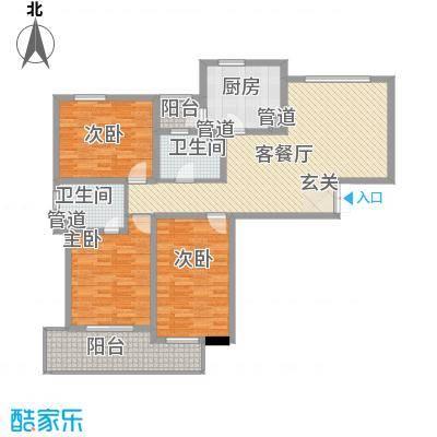 御景华城户型3室