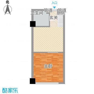 财富湾精品公寓标准层A户型