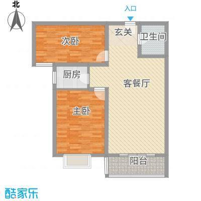 东湖苑户型2室