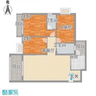 金田苑13.00㎡户型3室