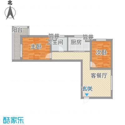 卓达书香园三期3-5号楼B户型