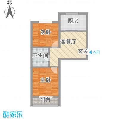 泡崖康馨园71.85㎡康馨园户型2室