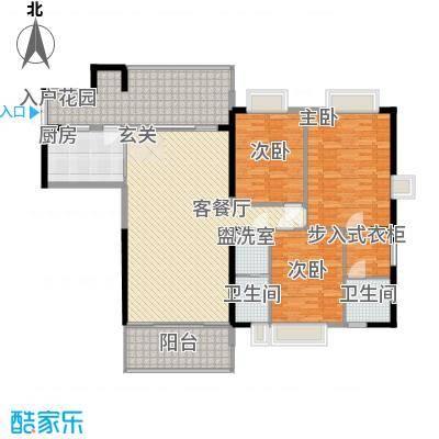 惠海新村118.00㎡户型3室