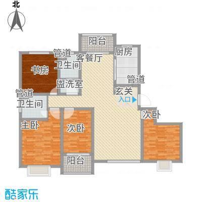 盛景家园183.00㎡户型4室