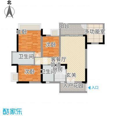 雅庭院14.00㎡户型4室