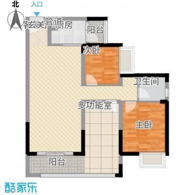 家华花园户型3室