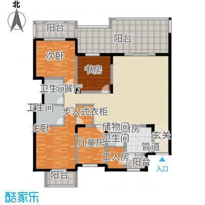 家华花园265.00㎡户型5室