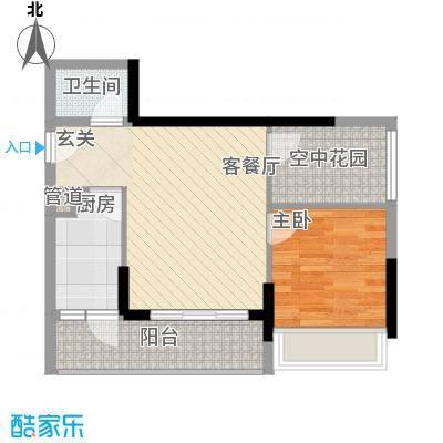 天烽新地户型1室