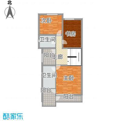 中环11区户型3室1厅1卫1厨