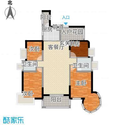 泰豪绿湖新村12.00㎡户型3室