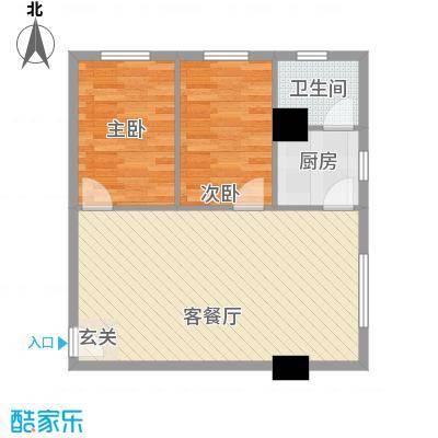 凝华苑125.00㎡户型3室