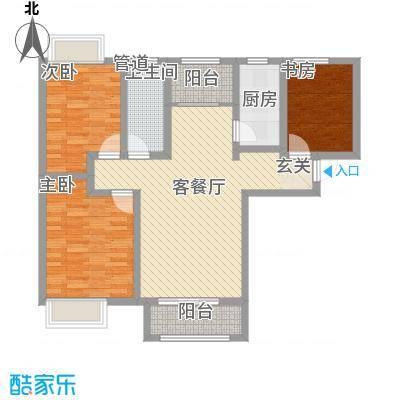 泉景天沅和园雅园112.00㎡户型3室
