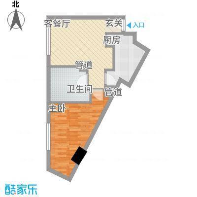 米兰国际公寓3户型