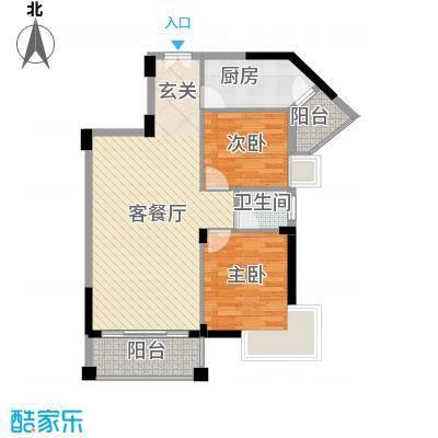 乐居苑户型3室