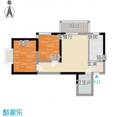 渭水茗居15号楼K户型