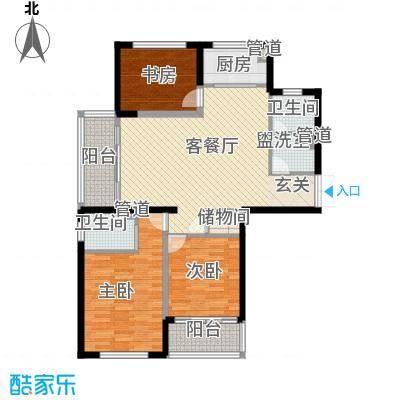龙兴苑65.00㎡户型2室