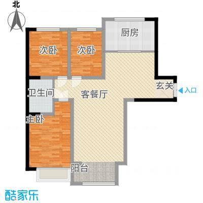 博雅苑户型3室