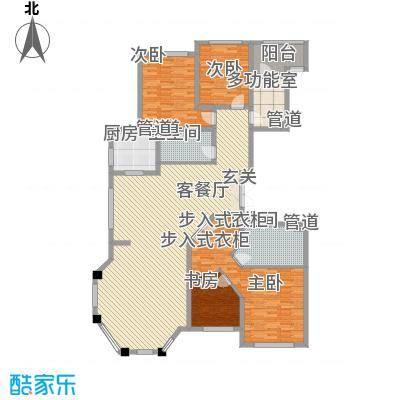 华夏・铂宫226.00㎡loft户型3室2厅2卫1厨